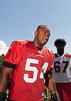 Jul 31, 2009; Flagstaff, AZ, USA; Arizona Cardinals linebacker (54) Gerald Hayes during training camp on the campus of Northern Arizona University. Mandatory Credit: Mark J. Rebilas-
