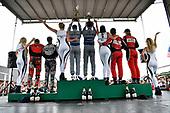 #86 Michael Shank Racing with Curb-Agajanian Acura NSX, GTD: Katherine Legge, Mario Farnbacher, #14 3GT Racing Lexus RCF GT3, GTD: Dominik Baumann, Kyle Marcelli, #58 Wright Motorsports Porsche 911 GT3 R, GTD: Patrick Long, Christina Nielsen