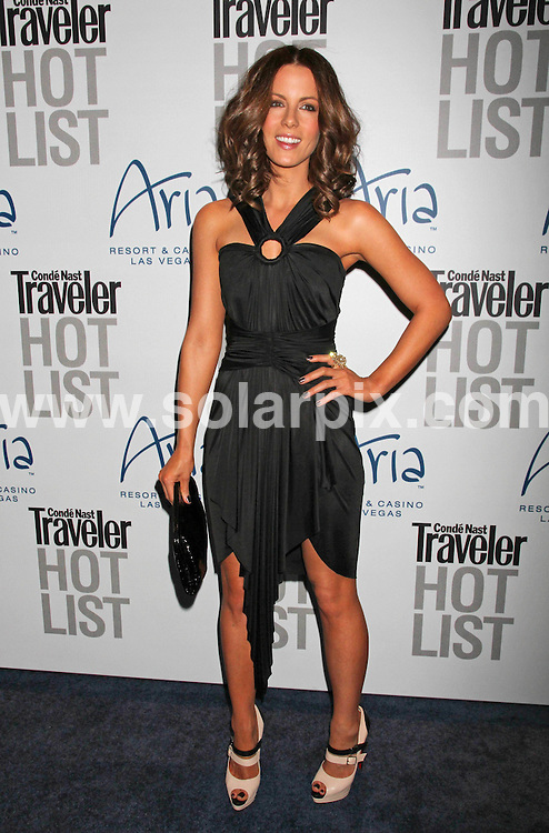 **ALL ROUND PICTURES FROM SOLARPIX.COM**.**SYNDICATION RIGHTS FOR UK, AUSTRALIA, DENMARK, PORTUGAL, S. AFRICA, SPAIN & DUBAI (U.A.E) & ASIA (EXCLUDING JAPAN) ONLY**.Conde Nast Traveler Hot List Party at Haze Nightclub in Las Vegas, 10 April 2010 .This pic: Kate Beckinsale.JOB REF: 11064    PHZ prn   DATE: 10_04_2010.**MUST CREDIT SOLARPIX.COM OR DOUBLE FEE WILL BE CHARGED**.**MUST NOTIFY SOLARPIX OF ONLINE USAGE**.**CALL US ON: +34 952 811 768 or LOW RATE FROM UK 0844 617 7637**