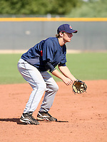 Jared Goedert / Cleveland Indians 2008 Instructional League..Photo by:  Bill Mitchell/Four Seam Images