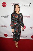 "LOS ANGELES, CA - NOVEMBER 7: Nanea Miyata, at Premiere of Lifetime's ""Christmas Harmony"" at Harmony Gold Theatre in Los Angeles, California on November 7, 2018. Credit: Faye Sadou/MediaPunch"