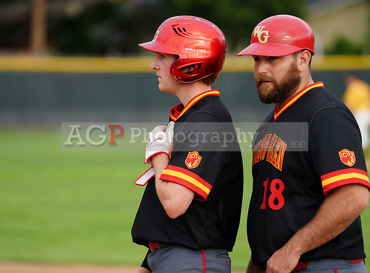 Mountain View vs Willow Glen High School varsity Baseball in Mountain View, CA Monday April 8, 2019. (Photo by Alan Greth)