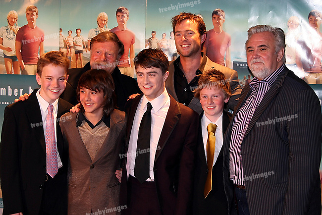 Red Carpet arrivals for the Australian Premiere of the movie December Boys, 9-9-07. Director Rod Hardy and Daniel Radcliffe and cast. ..