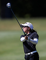 Yoonjeong Huh during the New Zealand Amateur Golf Championship at Russley Golf Course, Christchurch, New Zealand. Saturday 4 November 2017. Photo: Simon Watts/www.bwmedia.co.nz