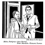 The House in the Square : Ann Blyth and Tyrone Power