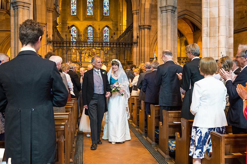 Amanda Paul and John Freeman wedding at Ayr in Scotland, Saturday 20th June 2015.