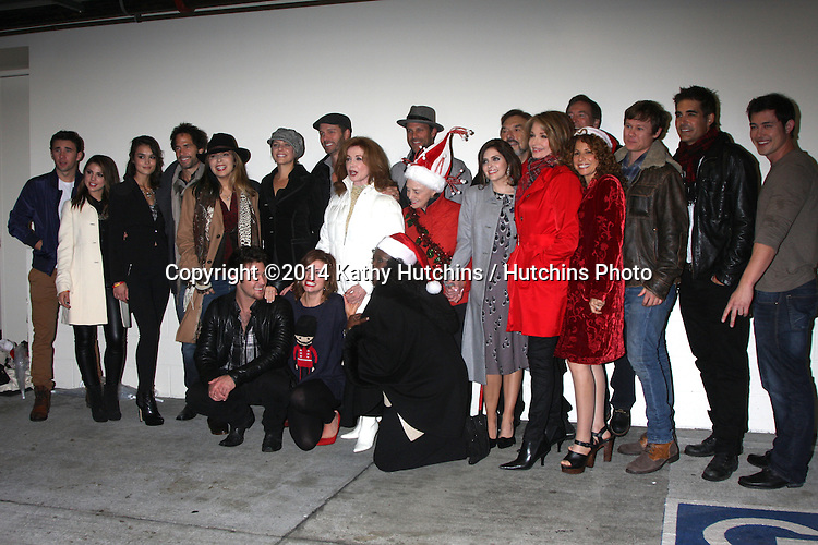 LOS ANGELES - NOV 30:  Days of Our Lives Cast at the 2014 Hollywood Christmas Parade at the Hollywood Boulevard on November 30, 2014 in Los Angeles, CA