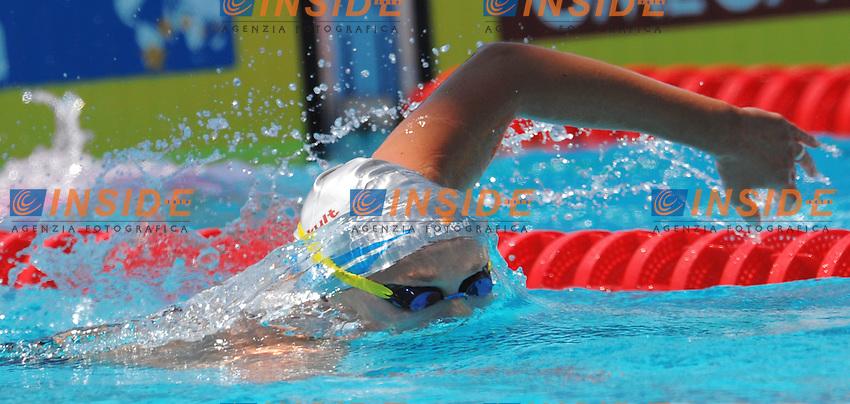 Roma 26th July 2009 - 13th Fina World Championships From 17th to 2nd August 2009.Women's 100m Freestyle Nuoto.Federica PELLEGRINI (ITA).photo: Roma2009.com/InsideFoto/SeaSee.com .Foto Andrea Staccioli Insidefoto
