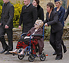 """BARBARA GIBB, ROBIN'S MOTHER.ROBIN GIBB'S FUNERAL.Robin who died after a lon-running battle with cancer aged 62, was buried at St. mary's Church , Thame, Oxfordshire..Brother Barry Gibb,65, the last surviving member of the Bee Gees was joined by family members for the funeral service..Celebrity guests who attended the funeral included Peter Andre, Tim Rice, Susan George and Leslie Phillips_08/06/2012.Mandatory Credit Photo: ©NEWSPIX INTERNATIONAL..**ALL FEES PAYABLE TO: """"NEWSPIX INTERNATIONAL""""**..IMMEDIATE CONFIRMATION OF USAGE REQUIRED:.Newspix International, 31 Chinnery Hill, Bishop's Stortford, ENGLAND CM23 3PS.Tel:+441279 324672  ; Fax: +441279656877.Mobile:  07775681153.e-mail: info@newspixinternational.co.uk"""