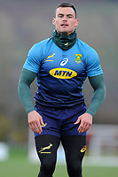 Jesse Kriel of South Africa in action during the South Africa Training Session at The WSC Trefforest Grounds in Trefforest, Wales, UK. Monday 19 November 2018