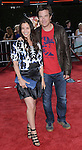 Jason Bateman and wife Amanda Anka arriving to the premiere for Tropic Thunder, held at Mann's Village Theater in Westwood, Ca. August 11, 2008. Fitzroy Barrett