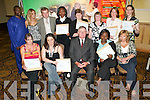 Achievers: Receiving their Certificates in ECDL at the 2007 FAS Certification awards ceremony.at the Brandon Conference Centre, Tralee, on Thursday night