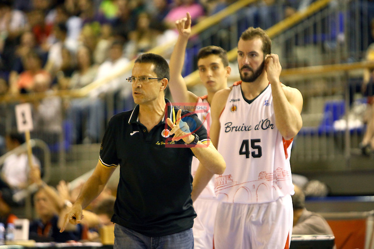 Regal XXXV Llia Nacional Catalana ACB 2014-Semifinals.<br /> FC Barcelona vs La Bruixa d'Or Manresa: 82-66.<br /> Pedro Martinez.