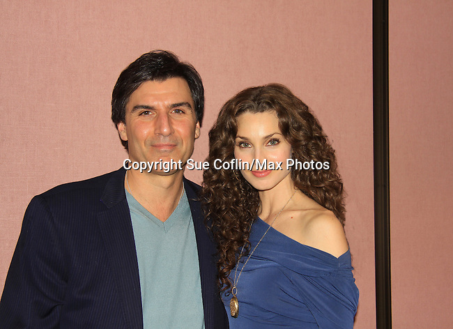 """- A Tribute to Pine Valley - All My Children's Alicia Minshew """"Kendall"""", Vincent Irizarry """"David""""  on February 16, 2013 with fans for Q&A, autographs, photos at Foxwoods Resorts Casino in Mashantucket, CT and February 17, 2013 at Valley Forge Casino Resort in King of Prussia, PA. (Photo by Sue Coflin/Max Photos)"""