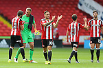 Sheffield Utd players enjoy the win during the League One match at Bramall Lane Stadium, Sheffield. Picture date: September 17th, 2016. Pic Simon Bellis/Sportimage