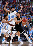 GLENDALE, AZ - APRIL 03: Nigel Williams-Goss #5 of the Gonzaga Bulldogs looks for a pass during the 2017 NCAA Men's Final Four National Championship game against the North Carolina Tar Heels at University of Phoenix Stadium on April 3, 2017 in Glendale, Arizona.  (Photo by Brett Wilhelm/NCAA Photos via Getty Images)