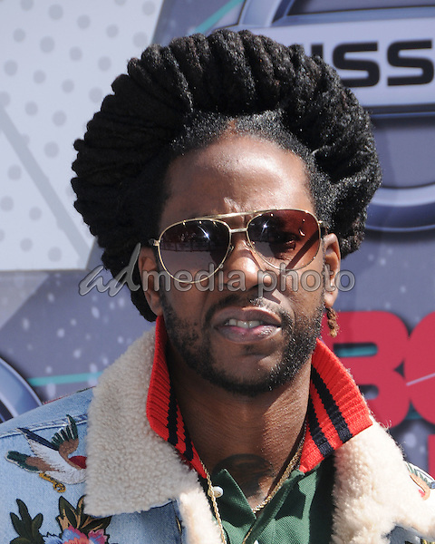 26 June 2016 - Los Angeles. 2 Chainz. Arrivals for the 2016 BET Awards held at the Microsoft Theater. Photo Credit: Birdie Thompson/AdMedia