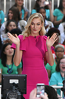 NEW YORK, NY - OCTOBER 11: Karlie Kloss On NBC's Today promoting and celebrating International Day of the Girl in New York City on October 11, 2018. Credit: John Palmer/MediaPunch