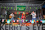 Local band No Direction preform with Gemma Gooding on the Square last Saturday night.