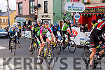 Killarney and Tralee cyclists finishes the final the stage of Ras Mumhan in Killorglin on Monday