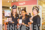 FINE ONE ONE: Launching the Fine One One by Benefit cosmetics brightening colour for cheeks and lips at CH Chemists, Tralee on Tuesday l-r: Julie Brick, Betesaida Hailegeorgis and Cindy Walsh.