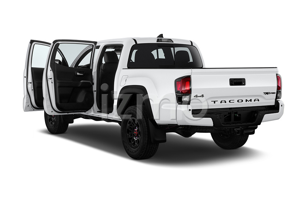 Car images close up view of a 2019 Toyota Tacoma TRD Pro 4 Door Pick Up doors