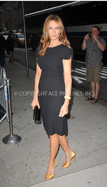 WWW.ACEPIXS.COM . . . . . ....June 16 2009, New York City....Television personality Melania Knauss Trump at a screening of 'Cheri' at the Directors Guild of America Theater on June 16, 2009 in New York City.....Please byline: KRISTIN CALLAHAN - ACEPIXS.COM.. . . . . . ..Ace Pictures, Inc:  ..tel: (212) 243 8787 or (646) 769 0430..e-mail: info@acepixs.com..web: http://www.acepixs.com