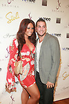 Jerseylicious' Tracy DiMarco and Corey - Arrivals: STYLE360 New York Fashion Week Presented by Stoli - SACHIKA SPRING 2012: MERMAID PARADISE - Metropolitan Pavilion New York City, USA - 9/13/11