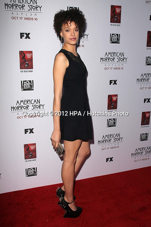 """LOS ANGELES - OCT 13:  Britne Oldford arrives at the """"American Horror Story: Asylum"""" Premiere Screening at Paramount Theater on October 13, 2012 in Los Angeles, CA"""