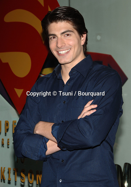 Brandon Routh arriving at Superman @ Kitson in Beverly Hills  in Los Angeles.May 1st,  2006.