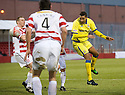 29/01/2011   Copyright  Pic : James Stewart.sct_jsp019_st_mirren_v_dundee_utd  .:: WILLY AUBAMEYANG HEADS TOWARDS GOAL ::.James Stewart Photography 19 Carronlea Drive, Falkirk. FK2 8DN      Vat Reg No. 607 6932 25.Telephone      : +44 (0)1324 570291 .Mobile              : +44 (0)7721 416997.E-mail  :  jim@jspa.co.uk.If you require further information then contact Jim Stewart on any of the numbers above.........