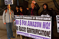 Money for people's needs, not a corporate giveaway to Amazon for a second headquarters based in Chicago.<br />