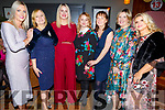 Enjoying the Annual Connect Kerry Ladies Luncheon and Fashion Afternoon in the Ashe Hotel on Sunday.<br /> L to r: Toireasa Ferris (Ardfert), Marie Dee (Ballyroe), Diane Jeffers (Ardfert), Magdalen Hennessey, Ann Moynihan, Olga Slattery and Sinead Scannel from Tralee.