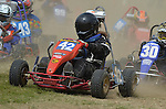 Swaton Race Track.Coningsby & District Kart Club.Grass Grand Prix