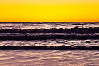 Sunset over Tasman Sea - Westland National Park, West Coast, New Zealand