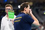 24.02.2019, SAP Arena, Mannheim<br /> Volleyball, DVV-Pokal Finale, VfB Friedrichshafen vs. SVG LŸneburg / Lueneburg<br /> <br /> Schiedsrichter, Schiri Stephan MŸller / Mueller / Challenge<br /> <br />   Foto © nordphoto / Kurth