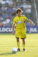 Guillermo Barros Schelotto..Columbus Crew defeated Kansas City Wizards 2-0 at Community America Ballpark, Kansas  City, Kansas.