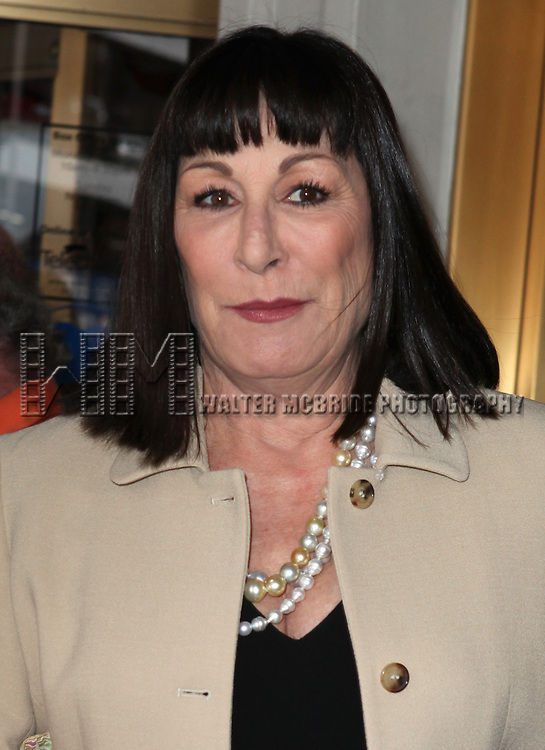 Anjelica Huston.attending 'Gore Vidal - A Celebration' at the Schoenfeld Theatre in New York City on August 23, 2012 © Walter McBride/WM Photography