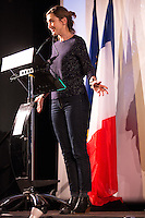 Julie Gayet, President of the 39th Villerupt Italian Film Festival at the opening ceremony - France