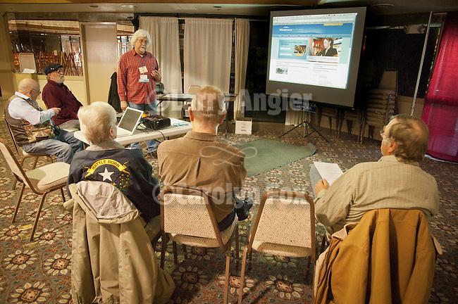 Bill Simms, Sam Hipkins and Marilyn Newton present WInnemucca at Work photo workshop, Shooting the West XXIV, WInnemucca, Nevada