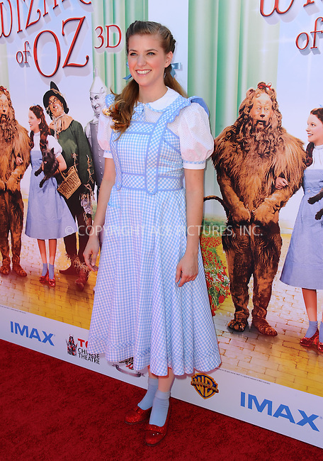WWW.ACEPIXS.COM<br /> <br /> September 15 2013, LA<br /> <br /> Danielle Wade at 'The Wizard Of Oz 3D' world premiere at TCL Chinese Theatre on September 15, 2013 in Hollywood, California.<br /> <br /> <br /> By Line: Peter West/ACE Pictures<br /> <br /> <br /> ACE Pictures, Inc.<br /> tel: 646 769 0430<br /> Email: info@acepixs.com<br /> www.acepixs.com