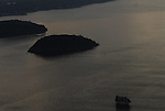 Aerial view of Arcadia National Park, Bar Harbor Maine,