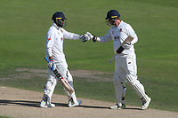 Murali Vijay (L) and Tom Westley enjoy a useful partnership for Essex during Nottinghamshire CCC vs Essex CCC, Specsavers County Championship Division 1 Cricket at Trent Bridge on 13th September 2018