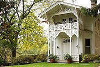 Belverdere house, Marsh-Billings-Rockefeller National Historic Park, Woodstock, Vermont, US