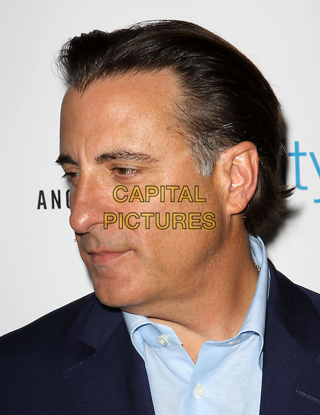 """ANDY GARCIA .Los Angeles Premiere of """"City Island"""" held At The Landmark Theatre, Los Angeles, California, USA, .15th March 2010..portrait headshot shirt navy blue profile side .CAP/ADM/KB.©Kevan Brooks/Admedia/Capital Pictures"""