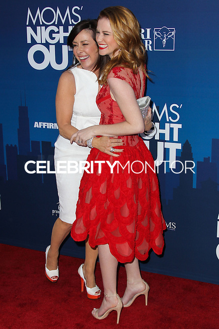 "HOLLYWOOD, LOS ANGELES, CA, USA - APRIL 29: Patricia Heaton, Sarah Drew at the Los Angeles Premiere Of TriStar Pictures' ""Mom's Night Out"" held at the TCL Chinese Theatre IMAX on April 29, 2014 in Hollywood, Los Angeles, California, United States. (Photo by Xavier Collin/Celebrity Monitor)"