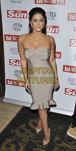 LONDON, ENGLAND - MARCH 02: Casey Batchelor attends the Sun's Bizarre column 1st annual party, Steam &amp; Rye bar &amp; restaurant, Leadenhall St., on Monday March 02, 2015 in London, England, UK. <br /> CAP/CAN<br /> &copy;CAN/Capital Pictures