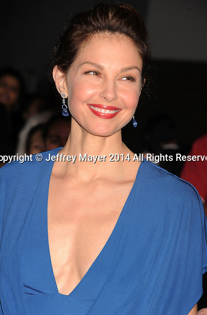 LOS ANGELES, CA- MARCH 18: Actress Ashley Judd arrives at the Los Angeles premiere of 'Divergent' at Regency Bruin Theatre on March 18, 2014 in Los Angeles, California.
