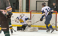 The St. Patrick's Boys High School hockey team dropped a 4-1 game to Chatham-Kent high school at Clearwater arena in a LKSSAA semi-final game.