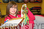 JUDGE EMMA: Gymnast Emma Sheehy, Ballylongford, the country's youngest gymnastics National Level judge, who will be judging at the upcoming national finals in Castleisland in December.   Copyright Kerry's Eye 2008